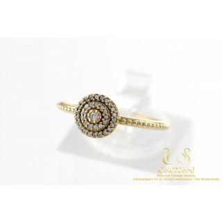 Pandora Dazzling Droplets Zirkonia Ring