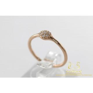 Pandora Rose Gouden Ring met Diamanten