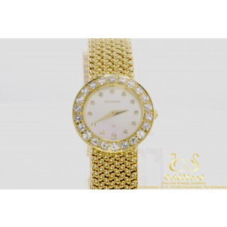 Carl F. Bucherer 18 karaat geelgoud Parel 1.3 ct Diamanten 22mm