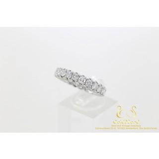3.5 CT Alliance Diamanten ring 18 karaat Witgoud