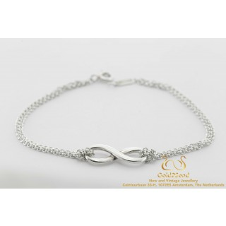 925 Tiffany & Co Infinity bracelet zilver