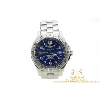 Breitling Superocean A17360 Blue Dial 42mm steel