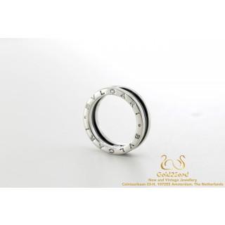 Bulgari Save the Children 346090 zilveren ring B Zero zilver