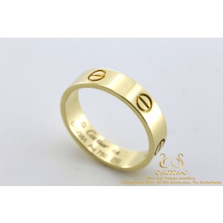 Cartier Love Ring Geelgoud 64 18K