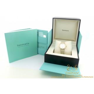 Doos en Certificaat Atlas Tiffany & Co Pearl Diamond rose gold 18K 31mm