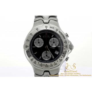 Ebel Sportwave chronograph E9251641 40mm Steel