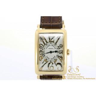 Franck Muller Long Island Rose goud horloge