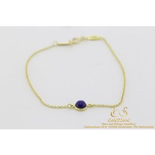 Tiffany & Co. Armband ELSA PERETTI Lapis Lazuli 18 karat yellow gold