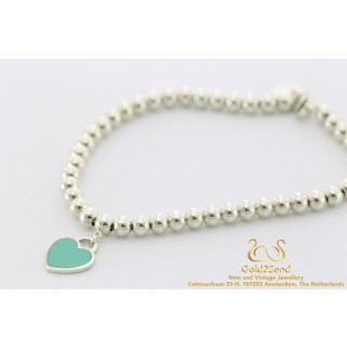 Tiffany & Co. Return to Tiffany Bead Bracelet silver Bracelet