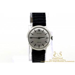 Rolex Precision 22mm 18K white gold 2191