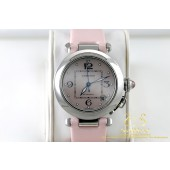 Cartier Pasha C 2324 Automatic Limited Edition Pearl Pink Shell 35mm