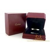 Cartier armband love 18 karaat witgoud maat 17