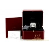 Cartier Santos WSSA00009 4072 Steel 40mm horloge SANTOS DE CARTIER