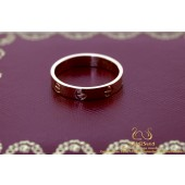 Cartier Love Ring 3.6mm 18K Rose Gold Size 54 B4085254 / CRB4085200