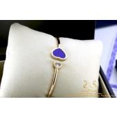 Chopard Happy Hearts 18K Rose Gold Lapis Lazuli Diamond M 857482-5503
