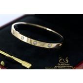 Love Cartier armband rose goud 10 diamanten 18 karaat goud