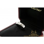 Love ring Cartier 6 diamonds B4026000 witgoud 18 karaat