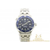 Omega Seamaster Professional 300M 2561.80.00 steel blue dial 36mm