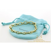 Tiffany & Co Oval Link Clasp 18K yellow gold bracelet 17,5 cm